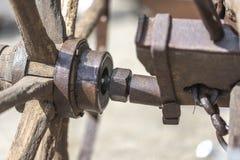 De Hub van het ploegwiel royalty-vrije stock afbeeldingen