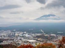 De huid van de Fujiberg in wolk royalty-vrije stock afbeelding