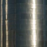 De huid van het staal Stock Foto's