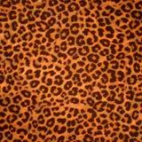 De huidachtergrond of textuur van de luipaard Royalty-vrije Stock Afbeeldingen
