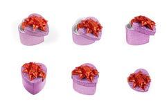 De huidige dozen van het hart Royalty-vrije Stock Fotografie