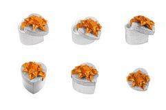 De huidige dozen van het hart Royalty-vrije Stock Afbeelding