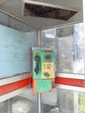 De huidige openbare telefoondienst stock foto's