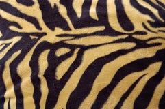 De huidpatroon van de tijger stock fotografie