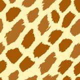 De huidtextuur van de giraf Stock Fotografie