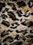De huidtextuur van de luipaard stock foto's