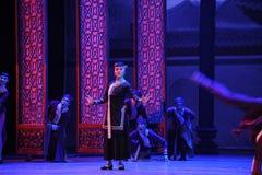 De huishoudster - de eerste handeling van de gebeurtenissen van dans drama-Shawan van het verleden stock foto