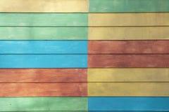 De huismuur schildert veel van kleuren royalty-vrije stock foto
