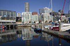 De huisvesting van de waterkant van Seattle Stock Foto's