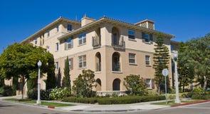 De huisvestingsflatgebouwen met koopflats van Californië Royalty-vrije Stock Foto's