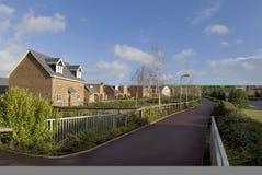 De huisvestingslandgoed van Elvetham Stock Afbeelding