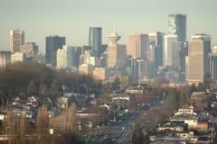 De Huizen en de Torens van Vancouver Royalty-vrije Stock Foto