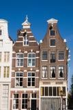 De huizen van Amsterdam Royalty-vrije Stock Foto's