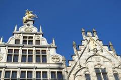 De huizen van Antwerpen Royalty-vrije Stock Afbeelding