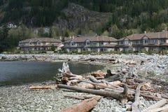De Huizen van Beachside Royalty-vrije Stock Afbeelding