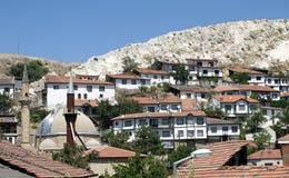 De huizen van Beypazari Stock Afbeelding