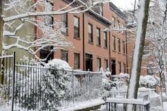 De Huizen van Brooklyn Royalty-vrije Stock Foto's