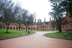 De Huizen van de Aalmoes van Bedworth, Warwickshire Stock Afbeelding
