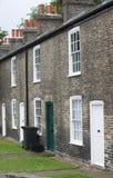 De huizen van de arbeidersklasse Stock Foto's