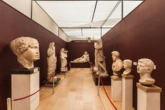 De huizen van de Archeologie Museum Stock Afbeelding