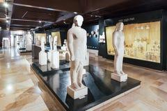 De huizen van de Archeologie Museum Royalty-vrije Stock Foto