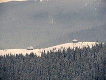 De huizen van de berg Royalty-vrije Stock Fotografie