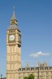 De Huizen van de Big Ben van het Parlement Royalty-vrije Stock Fotografie