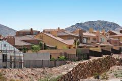 De huizen van de gipspleister Royalty-vrije Stock Foto's