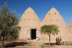 De huizen van de klei - Syrië, dorp royalty-vrije stock afbeelding