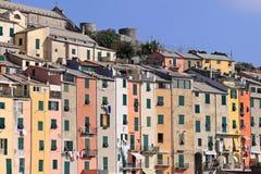 De huizen van de kleur Royalty-vrije Stock Foto