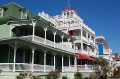 De Huizen van de Kust van New Jersey royalty-vrije stock foto