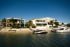 De Huizen van de luxe Royalty-vrije Stock Foto