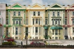De Huizen van de Paigntongast Royalty-vrije Stock Foto