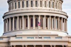 De Huizen van het Capitool van de V.S. van het Washington DC van het Congres Stock Afbeelding