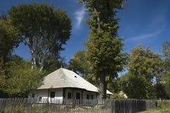 De huizen van het dorp Stock Afbeeldingen