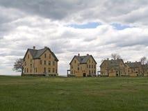 De Huizen van het fort Royalty-vrije Stock Afbeeldingen