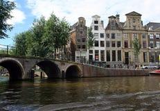 De Huizen van het kanaal Stock Foto