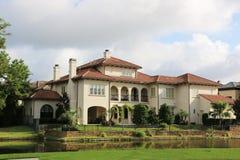 De huizen van het miljoen dollar Stock Afbeeldingen