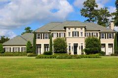 De huizen van het miljoen dollar Stock Afbeelding