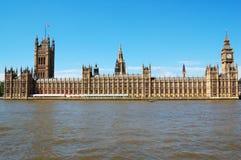 De huizen van het Parlement Stock Afbeeldingen
