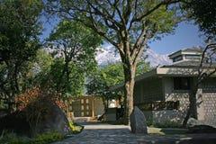 De huizen van het plattelandshuisje   Royalty-vrije Stock Fotografie
