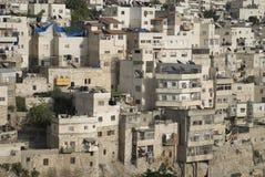 De huizen van Jeruzalem Royalty-vrije Stock Foto