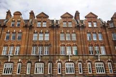 De huizen van Kensington, Londen stock foto's