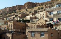 De huizen van Mardin. Stock Fotografie