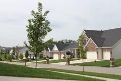 De Huizen van midwesten stock fotografie