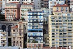 De huizen van Monaco Royalty-vrije Stock Foto's