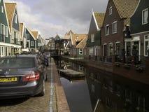 De huizen van Nederland Stock Afbeeldingen
