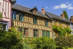 De huizen van Norman royalty-vrije stock fotografie