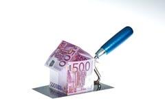 De huizen van onroerende goederen?, Vlakten voor verkoop of voor huur Stock Foto's