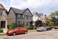 De huizen van Pittsburgh Royalty-vrije Stock Foto